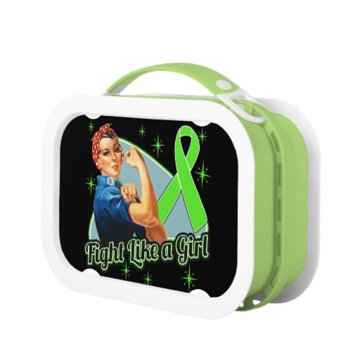 Non-Hodgkins Lymphoma Fight Like a Girl Lunchboxes