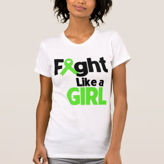Non-Hodgkins Lymphoma Fight Like a Girl T-shirts