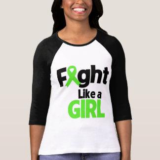 Non-Hodgkins Lymphoma Fight Like a Girl T Shirt