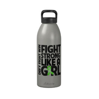 Non-Hodgkins Lymphoma Fight Strong Like a Girl Drinking Bottles
