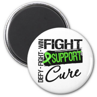 Non-Hodgkins Lymphoma Fight Support Cure Fridge Magnet