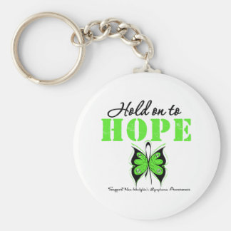 NON-HODGKINS Lymphoma Hold On To Hope Key Chains