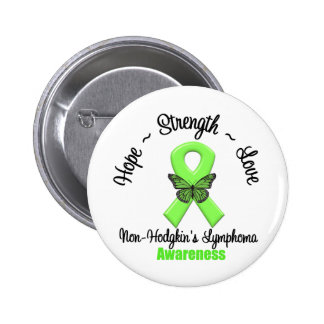 Non-Hodgkin's Lymphoma  Hope 6 Cm Round Badge