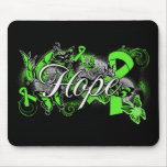Non-Hodgkins Lymphoma Hope Garden Ribbon Mouse Pads