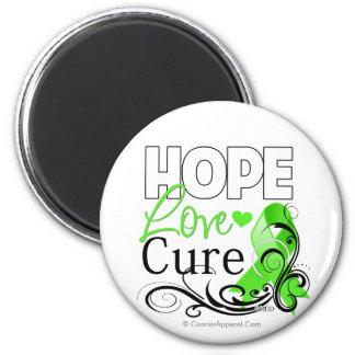 Non-Hodgkins Lymphoma Hope Love Cure Fridge Magnet