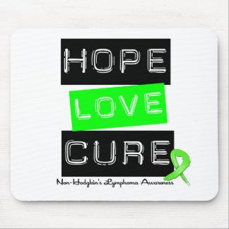 Non Hodgkins Lymphoma  Hope Love Cure Mouse Pad