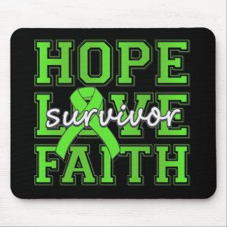 Non-Hodgkins Lymphoma Hope Love Faith Survivor Mouse Pad