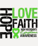 Non-Hodgkin's Lymphoma Hope Love Faith Tees