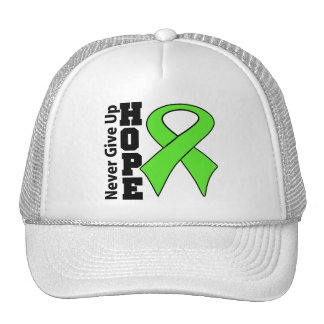 Non-Hodgkins Lymphoma Hope Never Give Up Hat