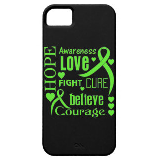 Non-Hodgkins Lymphoma Hope Words Collage iPhone 5 Covers
