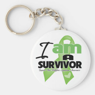 Non-Hodgkins Lymphoma - I am a Survivor Key Chain