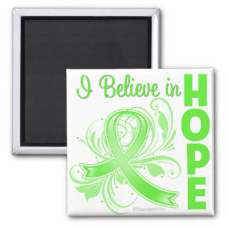 Non-Hodgkins Lymphoma I Believe in Hope Square Magnet