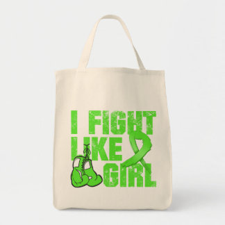 Non-Hodgkins Lymphoma I Fight Like A Girl (Grunge) Bag