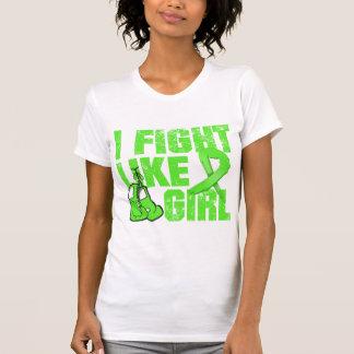 Non-Hodgkins Lymphoma I Fight Like A Girl (Grunge) T Shirt