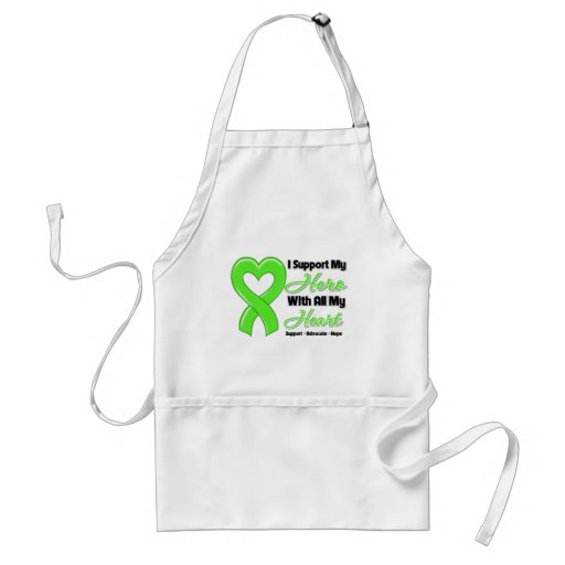 Non-Hodgkins Lymphoma I Support My Hero With All M Aprons