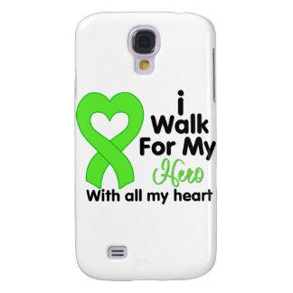 Non-Hodgkin's Lymphoma I Walk For My Hero Galaxy S4 Case