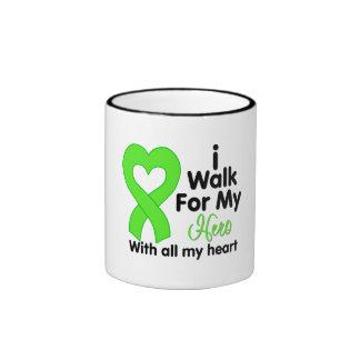 Non-Hodgkin's Lymphoma I Walk For My Hero Mug