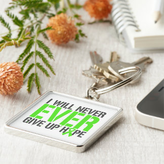 Non-Hodgkins Lymphoma I Will Never Give Up Hope Key Chains