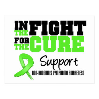 Non Hodgkins Lymphoma In The Fight For The Cure Postcard
