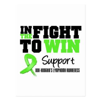 Non Hodgkin's Lymphoma In The Fight To Win Postcard