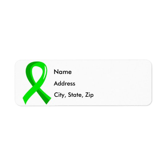 Non-Hodgkin's Lymphoma Lime Green Ribbon 3