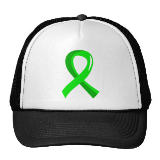Non-Hodgkin's Lymphoma Lime Green Ribbon 3 Cap