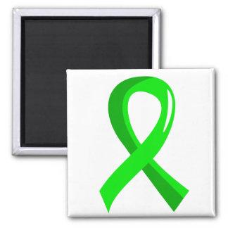 Non-Hodgkin's Lymphoma Lime Green Ribbon 3 Fridge Magnet