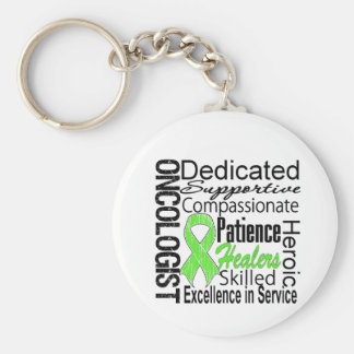Non Hodgkins Lymphoma Oncologist Collage Keychain