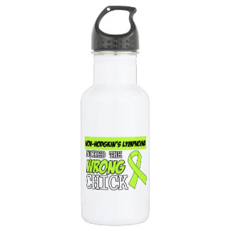 Non-Hodgkins Lymphoma Picked The Wrong Chick 532 Ml Water Bottle