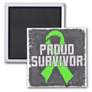Non-Hodgkins Lymphoma Proud Survivor Magnet