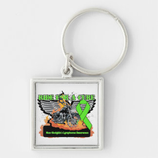 Non-Hodgkins Lymphoma Ride For a Cure Keychains