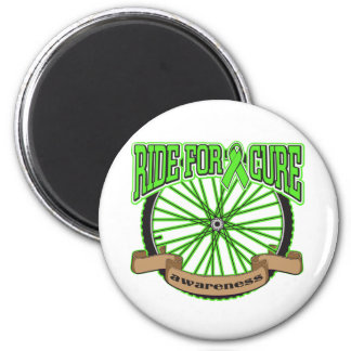 Non-Hodgkin's Lymphoma Ride For Cure Fridge Magnet