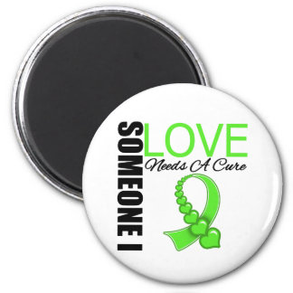 Non Hodgkins Lymphoma Someone I Love Needs A Cure Fridge Magnet