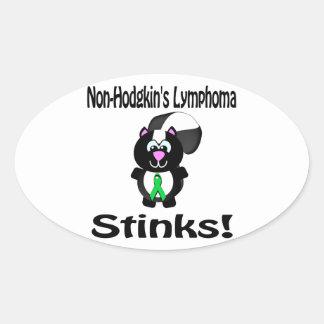 Non-Hodgkins Lymphoma Stinks Skunk Awareness Sticker