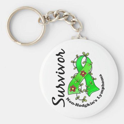 Non-Hodgkin's Lymphoma Survivor 15 Keychain