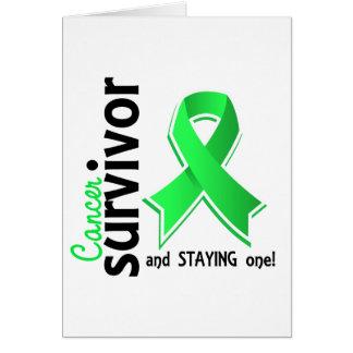 Non-Hodgkin's Lymphoma Survivor 19 Greeting Card