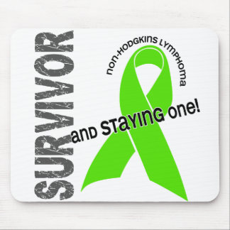 Non-Hodgkins Lymphoma Survivor Mouse Pad