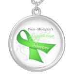 Non-Hodgkin's Lymphoma Survivor Personalized Necklace