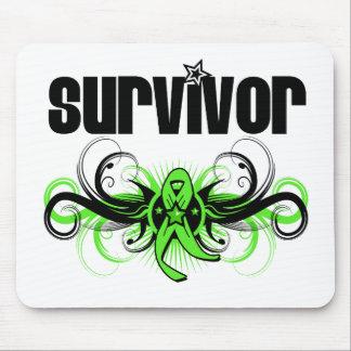 Non-Hodgkins Lymphoma Survivor Wing Emblem Mouse Pad
