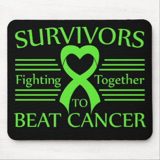 Non-Hodgkins Lymphoma Survivors Fighting Together Mouse Pad