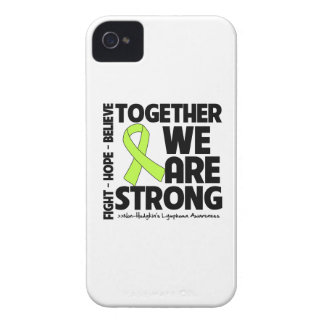 Non-Hodgkins Lymphoma Together We Are Strong.png iPhone 4 Cases