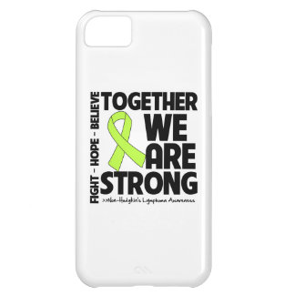 Non-Hodgkins Lymphoma Together We Are Strong.png iPhone 5C Case