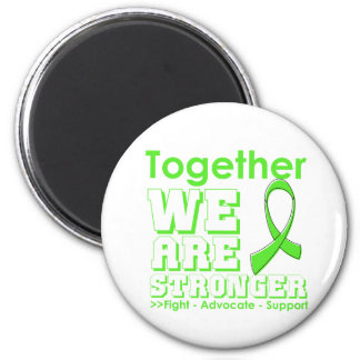 Non-Hodgkins Lymphoma Together We Are Stronger Fridge Magnets
