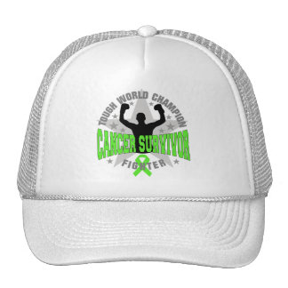 Non-Hodgkins Lymphoma Tough World Champion Survivo Hats