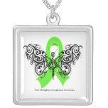 Non-Hodgkin's Lymphoma Tribal Butterfly Custom Jewelry