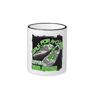 Non-Hodgkin's Lymphoma Walk For A Cure Shoes Ringer Mug