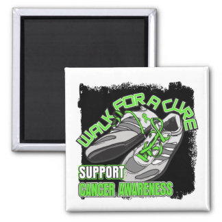 Non-Hodgkin's Lymphoma Walk For A Cure Shoes Square Magnet