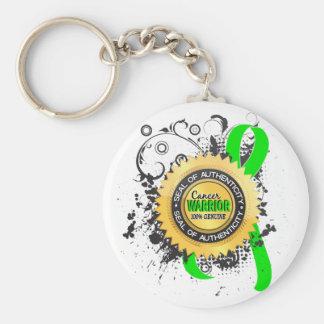 Non-Hodgkin's Lymphoma Warrior 23 Basic Round Button Key Ring