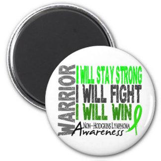 Non-Hodgkins Lymphoma Warrior 6 Cm Round Magnet