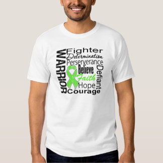 Non Hodgkins Lymphoma Warrior Collage T-shirt
